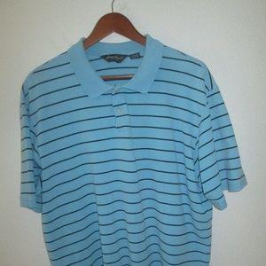 Men's Eddie Bauer Polo Shirt Size XL Short Sleeve